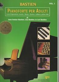Nuovo Corso di Pianoforte per Adulti Vol.1 con 2CD