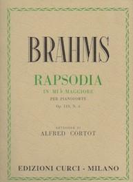 Rapsodia op.119 n.4 in Mib Maggiore