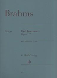 3 Intermezzi op.117