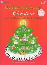 Bastien Play-Along: Christmas Book 1 con CD