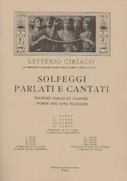 Solfeggi Parlati e Cantati vol.1