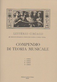 Compendio di Teoria Musicale vol.4