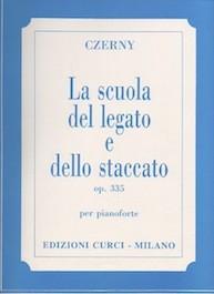 La Scuola del Legato e dello Staccato op.335