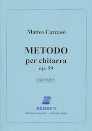 Metodo per Chitarra op.59 vol.1