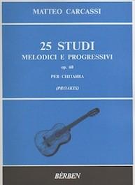 25 Studi Melodici e Progressivi op.60