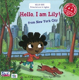 Hello I am Lily from New York City con CD