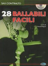 28 Ballabili Facili per Sax Alto con CD