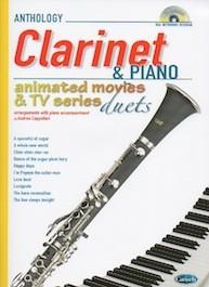 Clarinet & Piano Animated Movies & TV Series con CD