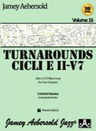 Aebersold Vol. 16 - Turnarounds, cicli e II-V7 (con CD)