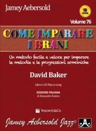Aebersold vol. 76 - Come imparare i brani (con CD)