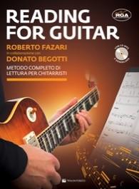 Reading for guitar + CD - metodo completo di lettura per chitarristi