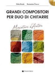 Grandi compositori per duo di chitarre + CD - miniature d'autore