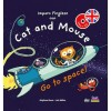 Cat and Mouse go to space con CD